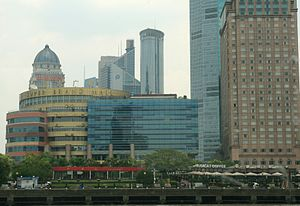 Super Brand Mall - Super Brand Mall seen from the Huangpu River