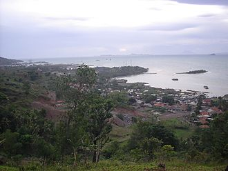 Banten - View of Cilegon