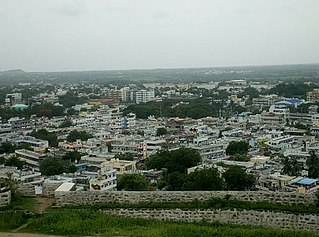 Suryapet City in Telangana, India