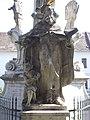 Svätotrojičný stĺp, Felix z Valois, 2020 Óbuda.jpg