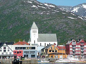 Svolvær Church - Image: Svolvær Lofoten Juni 2005