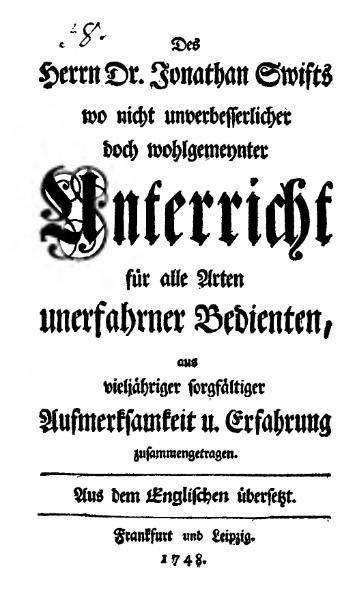 File:Swift-Unterricht für alle Arten unerfahrner Bedienten-1748.djvu