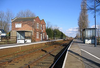 Swineshead railway station Railway station in village of Swineshead, Lincolnshire, England