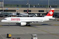 HB-IJH - A320 - Swiss