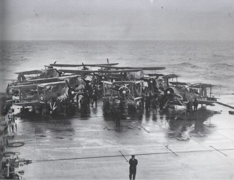 File:Swordfish on HMS Victorious before strike on Bismarck.jpg