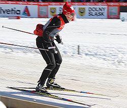 Sylwia Jaśkowiec - Puchar Świata Szklarska Poręba 2014 - Trening (cropped).jpg
