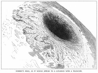 John Cleves Symmes Jr. - Symmes Hole, from Harper's New Monthly Magazine, 1882