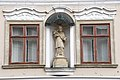Székesfehérvár, belvárosi Nepomuki Szent János-szobor 2021 03.jpg