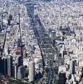 Třída Avenida 9 de Julio a obelisk - Buenos Aires - panoramio.jpg