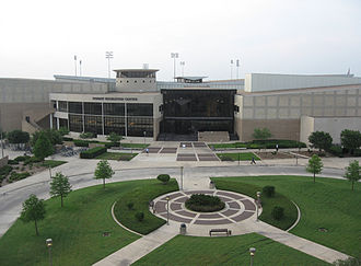 Texas A&M Aggies - The Student Rec Center, home of the swimming and diving natatorium