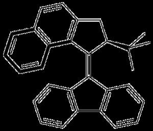 Synthetic molecular motor - Synthetic molecular motors: fluorene system