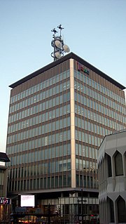 Shin-etsu Broadcasting Television station in Nagano Prefecture, Japan
