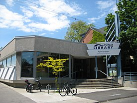 The Palmerston branch of the Toronto Public Library in Seaton Village