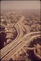 TRAFFIC INTERCHANGE CUTS THROUGH THE HEART OF DOWNTOWN MIAMI - NARA - 544634.tif