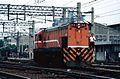 TRA Diesel Locomotive R111 Kaohsiung 1997.jpg