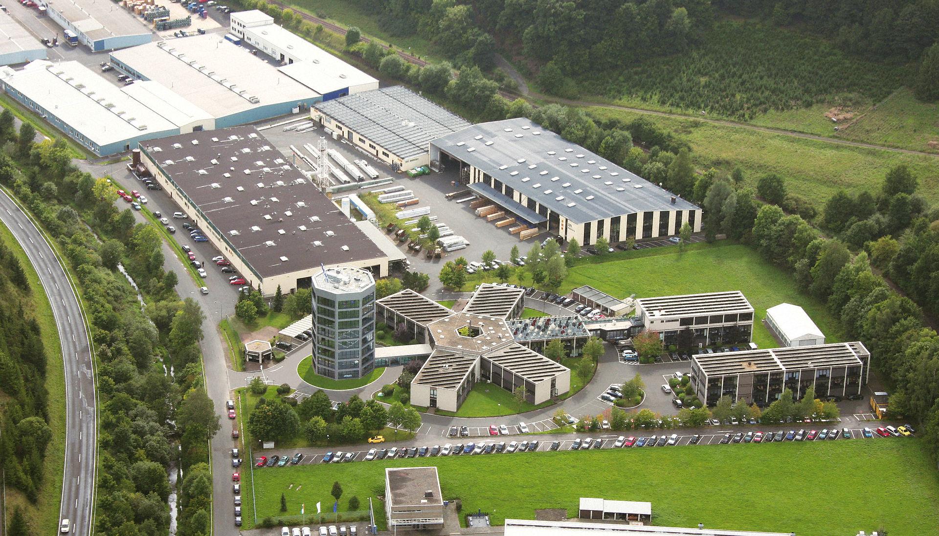 Der Technisat Hauptsitz in Daun, Rheinlandpfalz (Quelle:Wikimedia.org), Technisat