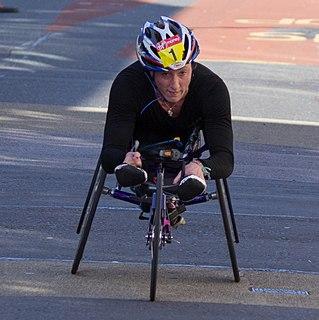 Tatyana McFadden American Paralympic athlete
