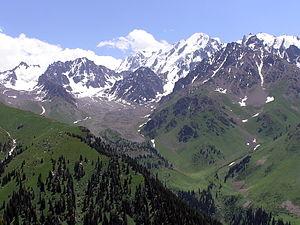 Talgar - Talgar mountains. Kamennoye ravine
