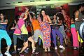 Talwalkars launched Zumba Fitness Programme in India, Neha Dhupia.jpg