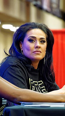 Tamina Snuka at WrestleMania Axxess 32.jpg