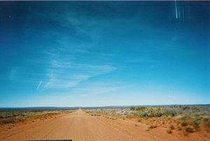 Tanami Desert - Desert track, 2004