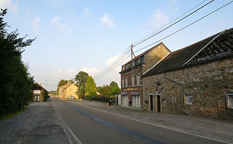 Tancrémont (Belgium): Route de Tancrémont road