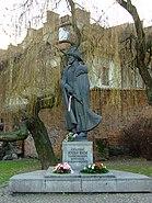 Tarnów, centrum města, socha Jozefa Bema II