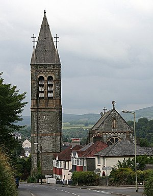 Tavistock - Image: Tavistock Roman Catholic Church geograph.org.uk 193889