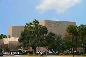Uptown Tampa - The Tampa Bay Performing Arts Center located in the Uptown district.