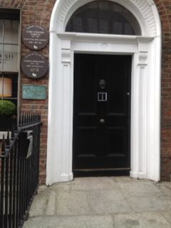 4 Harcourt Street, Dublin, where Carson was born in 1854