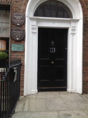 Edward Carson - Lord Edward Carson was born in this house, 4 Harcourt Street, Dublin