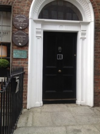 Edward Carson - Lord Edward Carson was born in this house, 4 Harcourt Street, Dublin