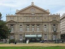 Teatro Colon, Plaza Lavalle, Buenos Aires alt