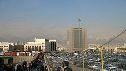 Tehran from Mirdaband metro station.jpg