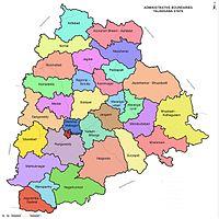 Telangana new districts 2016