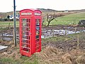 Telephone Box in Glen Hinnisdal - geograph.org.uk - 648461.jpg