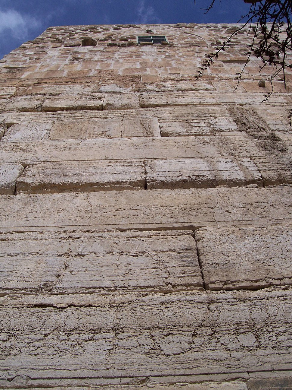 Temple mount south wall2