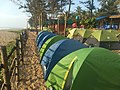 Tents at Hackbeach 2018 Gokarna IMG 20181201 165252.jpg
