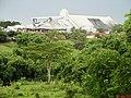 Terminal de armazenamento de açúcar da Agrovia Brasil, em Santa Adélia-SP. Um incêndio no terminal no dia 25 de outubro de 2013, contaminou o Rio São Domingos que recebeu 4 milhões de litros - panoramio (1).jpg