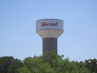 Terrell, Texas - Terrell water tower