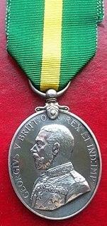 Territorial Force Efficiency Medal Award