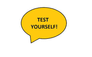 English: Test yourself