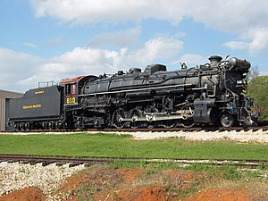 Texas and Pacific 610 - Image: Texas and Pacific Locomotive