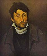 Le monomane   (ou   Le fou aliéné  , ou Le cleptomane) (1822)