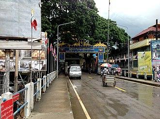 Tachileik - Thailand-Myanmar Bridge