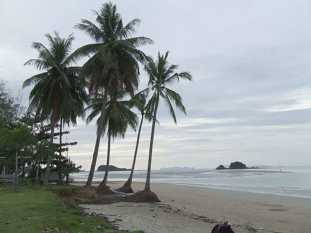 Thailand koh lanta beach