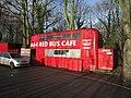 The A64 Red Bus Café near Kiddal Bridge - geograph.org.uk - 2783524.jpg