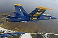The Blue Angels fly over Pensacola. (9519619338).jpg