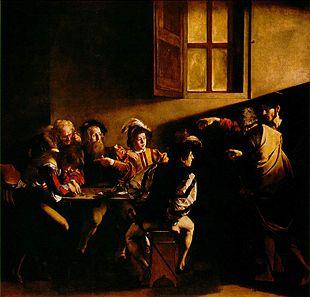 La Vocazione di san Matteo del Caravaggio.