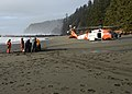 The Coast Guard helps remove trash from a beach near Neah Bay, Wash. 160122-G-KL864-854.jpg